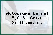Autogrúas Bernal S.A.S. Cota Cundinamarca