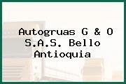 Autogruas G & O S.A.S. Bello Antioquia