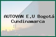 AUTOVAN E.U Bogotá Cundinamarca