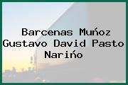 Barcenas Muñoz Gustavo David Pasto Nariño