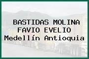 BASTIDAS MOLINA FAVIO EVELIO Medellín Antioquia