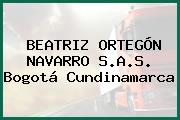 BEATRIZ ORTEGÓN NAVARRO S.A.S. Bogotá Cundinamarca