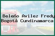 Beleño Avilez Fredy Bogotá Cundinamarca