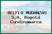 BELFLO MUDANZAS S.A. Bogotá Cundinamarca