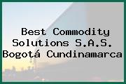 Best Commodity Solutions S.A.S. Bogotá Cundinamarca