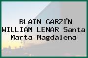 BLAIN GARZµN WILLIAM LENAR Santa Marta Magdalena