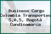 Business Cargo Colombia Transportes S.A.S. Bogotá Cundinamarca