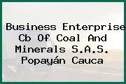 Business Enterprise Cb Of Coal And Minerals S.A.S. Popayán Cauca
