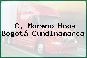 C. Moreno Hnos Bogotá Cundinamarca