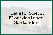 Cafali S.A.S. Floridablanca Santander