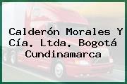 Calderón Morales Y Cía. Ltda. Bogotá Cundinamarca
