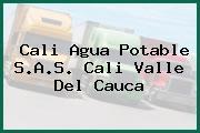 Cali Agua Potable S.A.S. Cali Valle Del Cauca