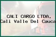 CALI CARGO LTDA. Cali Valle Del Cauca