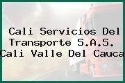 Cali Servicios Del Transporte S.A.S. Cali Valle Del Cauca