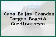 Cama Bajas Grandes Cargas Bogotá Cundinamarca