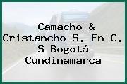 Camacho & Cristancho S. En C. S Bogotá Cundinamarca