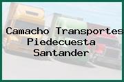 Camacho Transportes Piedecuesta Santander