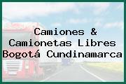 Camiones & Camionetas Libres Bogotá Cundinamarca