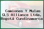 Camiones Y Mulas GLS Alliance Ltda. Bogotá Cundinamarca