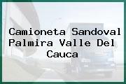 Camioneta Sandoval Palmira Valle Del Cauca