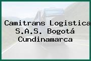 Camitrans Logistica S.A.S. Bogotá Cundinamarca