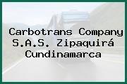 Carbotrans Company S.A.S. Zipaquirá Cundinamarca