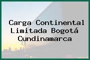 Carga Continental Limitada Bogotá Cundinamarca