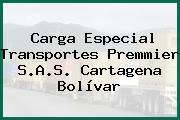 Carga Especial Transportes Premmier S.A.S. Cartagena Bolívar