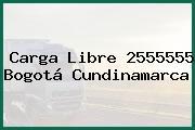 Carga Libre 2555555 Bogotá Cundinamarca