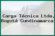 Carga Técnica Ltda. Bogotá Cundinamarca