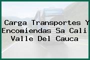Carga Transportes Y Encomiendas Sa Cali Valle Del Cauca