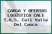 CARGA Y OFERTAS LOGÚSTICA CALI S.A.S. Cali Valle Del Cauca