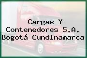 Cargas Y Contenedores S.A. Bogotá Cundinamarca