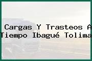 Cargas Y Trasteos A Tiempo Ibagué Tolima
