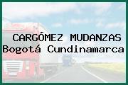 CARGÓMEZ MUDANZAS Bogotá Cundinamarca