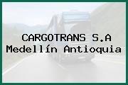 CARGOTRANS S.A Medellín Antioquia