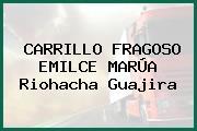 CARRILLO FRAGOSO EMILCE MARÚA Riohacha Guajira