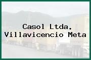 Casol Ltda. Villavicencio Meta
