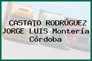 CASTAÞO RODRÚGUEZ JORGE LUIS Montería Córdoba