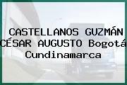 CASTELLANOS GUZMÁN CÉSAR AUGUSTO Bogotá Cundinamarca