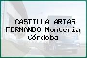 CASTILLA ARIAS FERNANDO Montería Córdoba