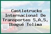 Castletrucks Internacional De Transportes S.A.S. Ibagué Tolima