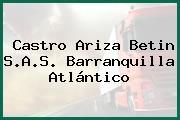 Castro Ariza Betin S.A.S. Barranquilla Atlántico