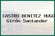 CASTRO BENITEZ HUGO Girón Santander