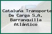 Cataluña Transporte De Carga S.A. Barranquilla Atlántico