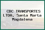 CBC TRANSPORTES LTDA. Santa Marta Magdalena