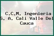 C.C.M. Ingenieria S. A. Cali Valle Del Cauca
