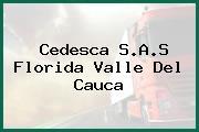 Cedesca S.A.S Florida Valle Del Cauca