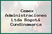 Cemex Administraciones Ltda Bogotá Cundinamarca