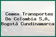 Cemex Transportes De Colombia S.A. Bogotá Cundinamarca